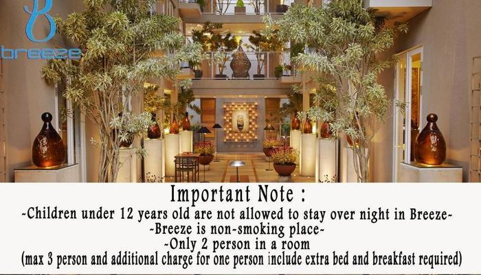 Breeze Art and Boutique Hotel Bandung - Hotel Policy