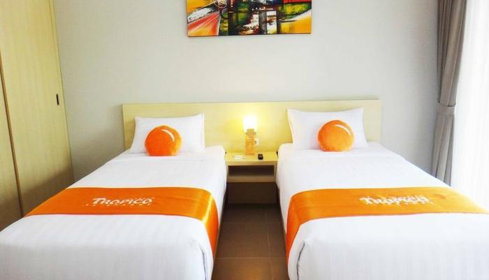 Tropico Jimbaran By Orange Bali - Kamar Deluxe 2 Tempat Tidur