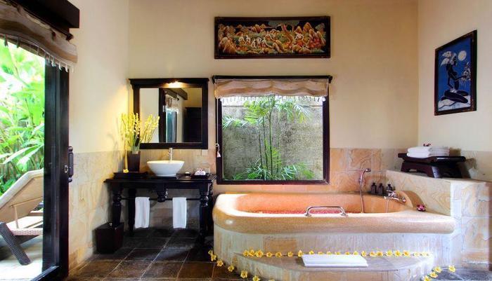 Furama Villas Ubud - kamar mandi