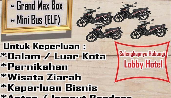 Hotel Ibrahim Syariah Simpang Lima Semarang - Sewa Kendaraan