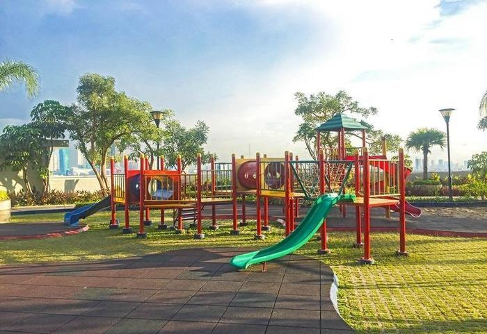 RedDoorz Apartment @Season City Jakarta - Area bermain anak-anak