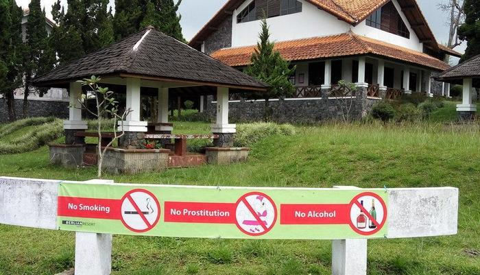 Berlian Resort Cianjur - gazebo