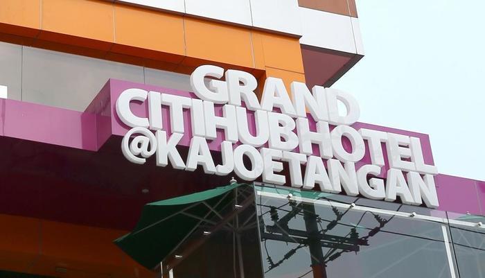 Grand Citihub Hotel @ Kajoetangan Malang - Fasade