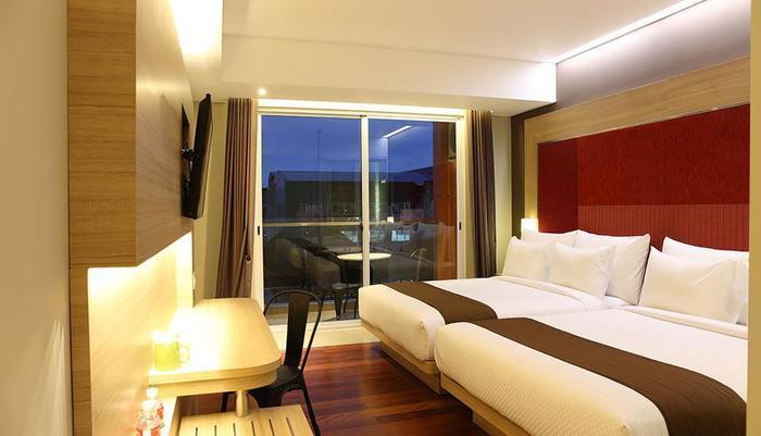 Grand Citihub Hotel @ Kajoetangan Malang - Superior Twin 4 Person