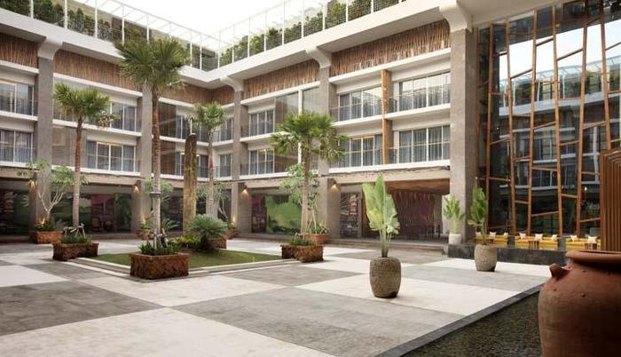 TS Suites Bali - TS_Suites_Leisure_Seminyak - Courtyard