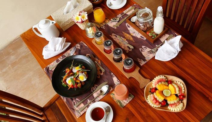 Ashoka Tree Resort at Tanggayuda Bali - Breakfast