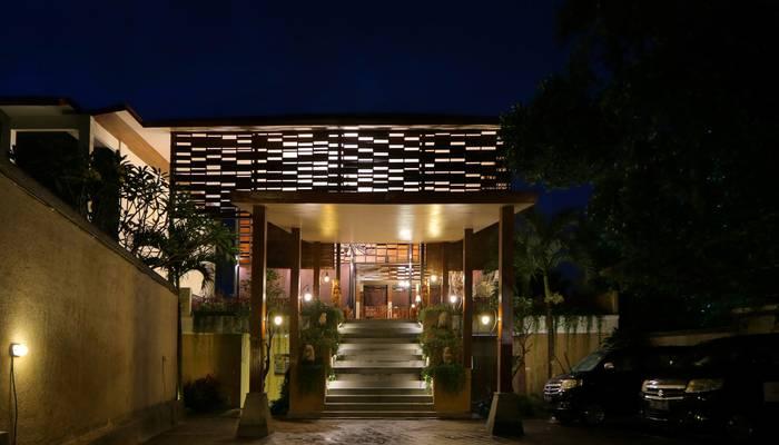 Ashoka Tree Resort at Tanggayuda Bali - Entrance
