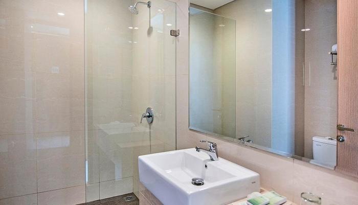 Hotel Lotus Subang - kamar mandi