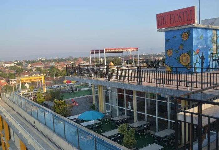 EDU Hostel Jogja - Rooftop