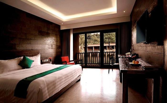 The Westlake Resort Yogyakarta - Eksekutif Double Pemandangan Danau