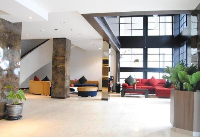 D Best Hotel Bandung - Lobby