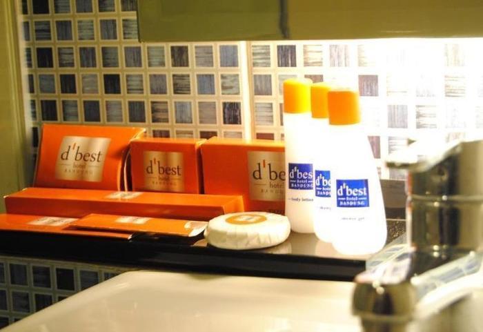D Best Hotel Bandung - Toiletries