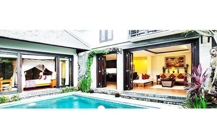 The Sanyas Suite Bali - Pemandangan Villa Eksekutif Suite