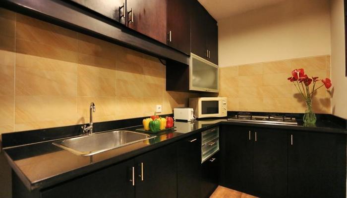 The Sanyas Suite Bali - Dapur vila Suite Deluxe