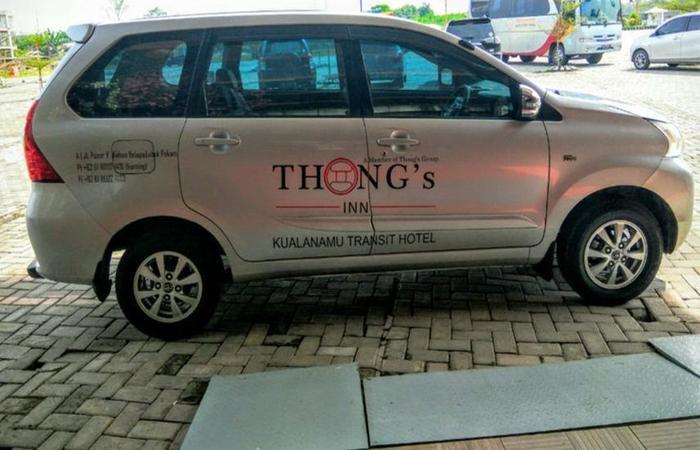 Thongs Inn Kualanamu Transit Hotel Kualanamu - Car