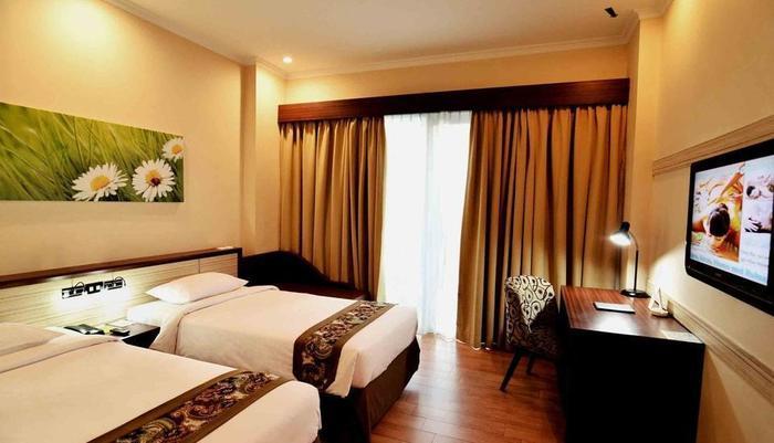 Angkasa Garden Hotel Pekanbaru - Deluxe room - twin bed