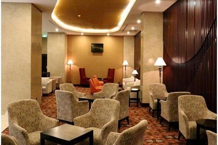 Indoluxe Hotel Yogyakarta - Ruang tamu