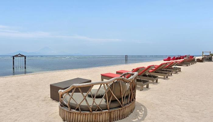 Hotel Ombak Sunset Lombok - beach