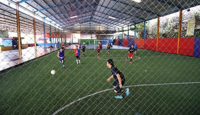 Hotel Bukit Indah Lestari Baturaja - Lapangan sepak bola mini