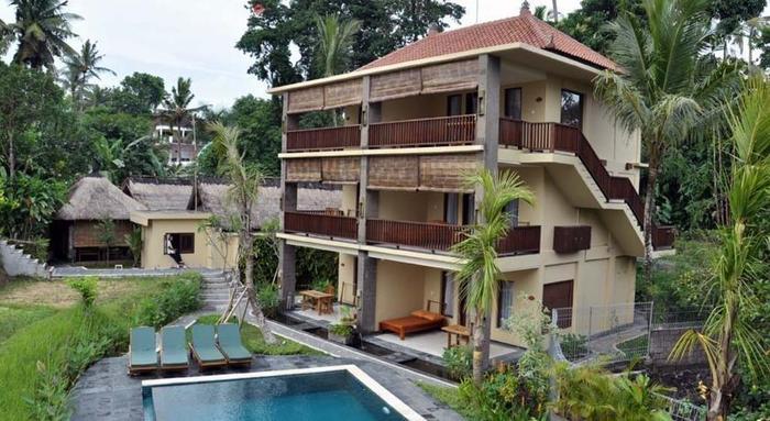 Biyukukung Suites & Spa Bali - Tampilan Luar