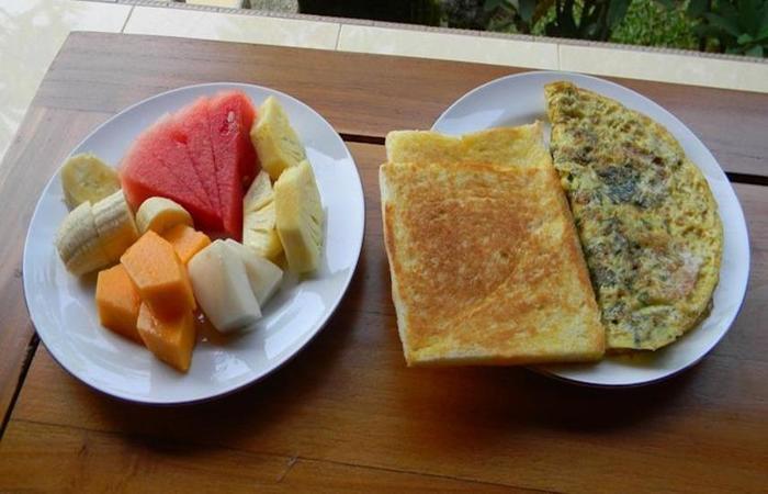 Suparsa's Home Stay Bali - Makanan