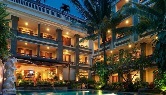 The Vira Hotel Bali - Tampilan Luar