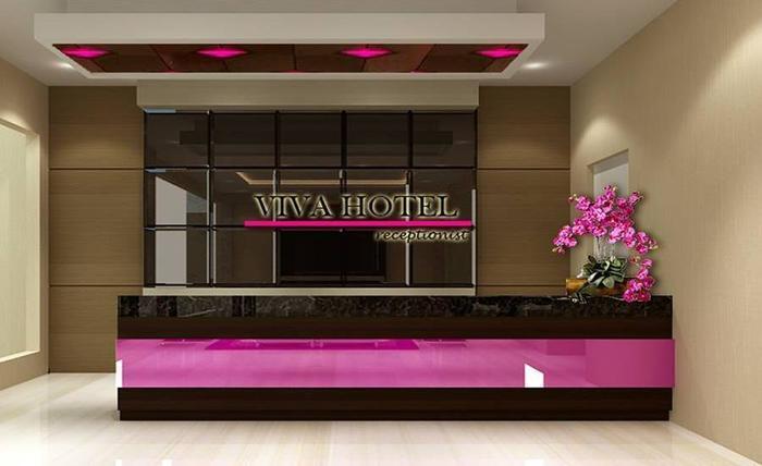 Viva Hotel Kediri By Front One Kediri - Resepsionis
