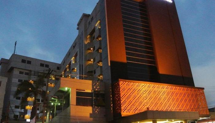 Asean Hotel International Medan - Tampilan Luar Hotel