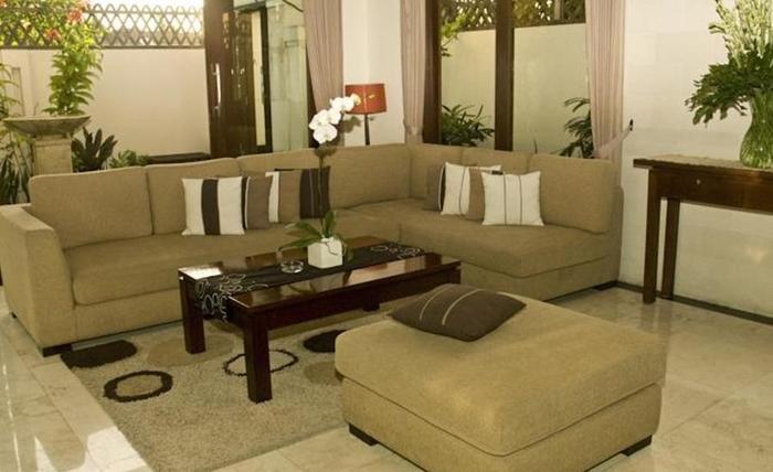 The Seri Villas Seminyak Bali - Ruang tamu