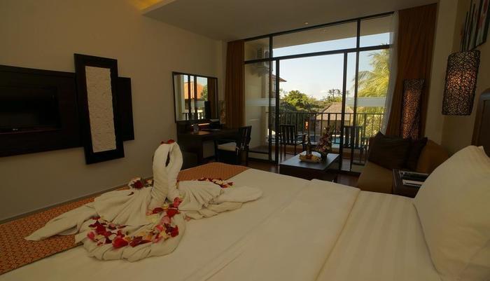 Best Western Resort  Kuta - Kamar Super Deluxe bulan madu Setup
