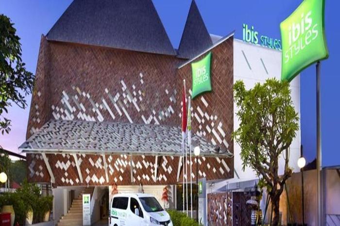 Ibis Styles Bali Kuta Circle   - Tampilan Luar Hotel