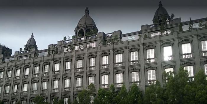 GH Universal Hotel Bandung - Building