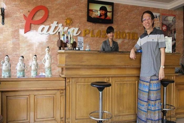 Patria Plaza Hotel Blitar - Resepsionis