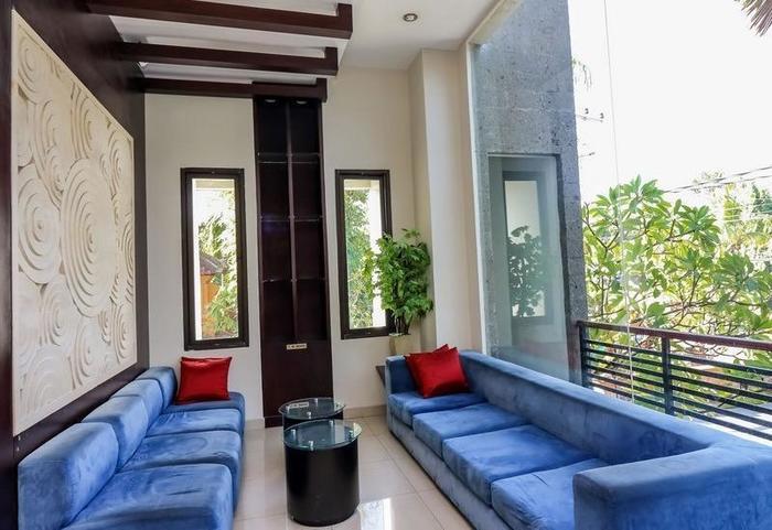 NIDA Rooms Umar Sesapi Denpasar - Ruang tamu