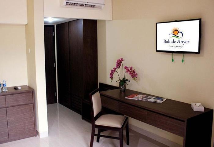 Bali De Anyer Hotel Carita - Kamar tamu