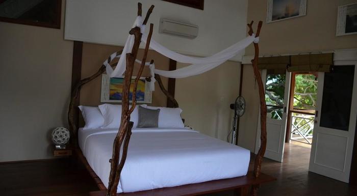 Serene Beach Villa Gili Trawangan - pantai tenang Kamar