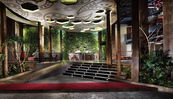 Sun Island Hotel Legian - Lobi hotel