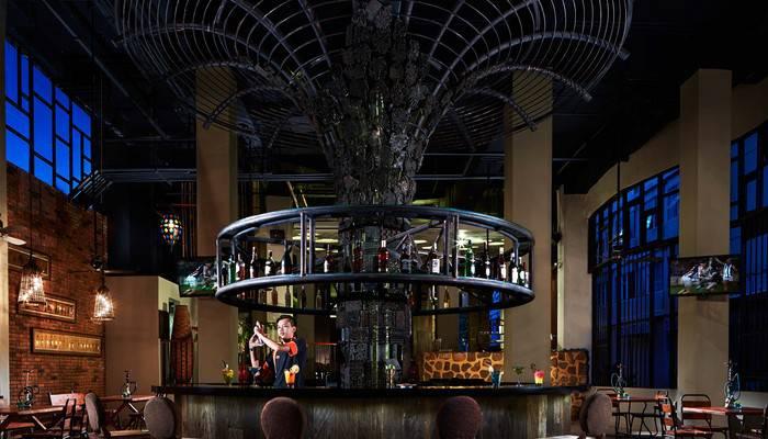 Sun Island Hotel Legian - Topix Asia Bar