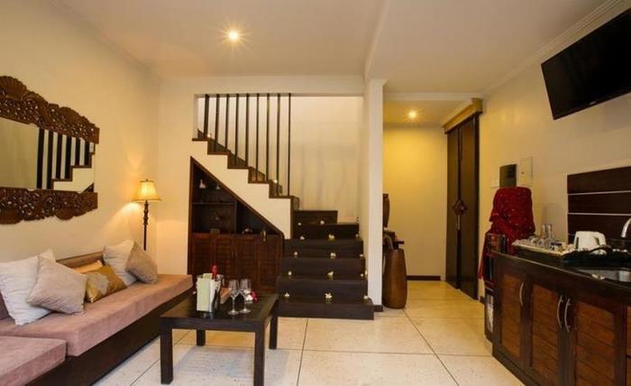 Munari Villa and Spa Batubulan Bali - Ruang tamu