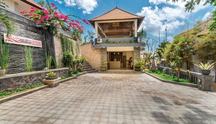 RedDoorz Plus @ Nusa Lembongan Island Bali - Eksterior