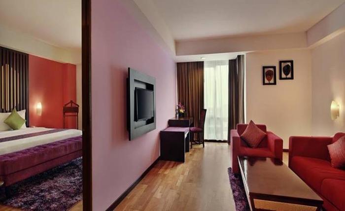 Hotel Mercure Pontianak - Ruang tamu