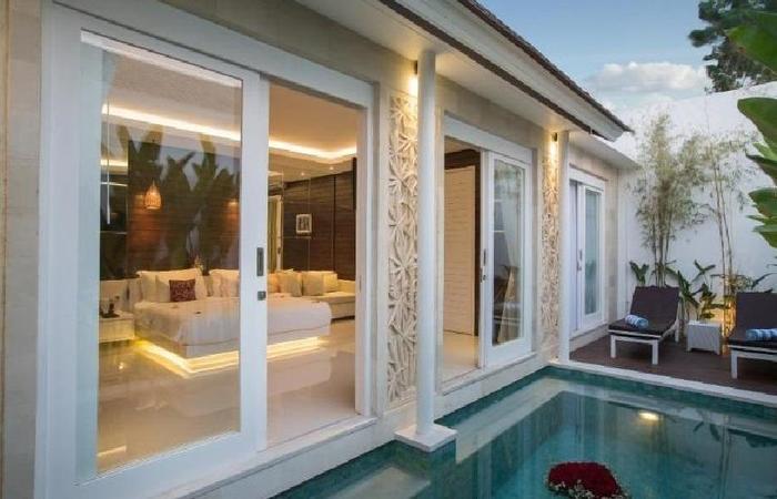 Crown Bali Villas Seminyak Bali - Kolam Renang