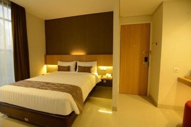 D'Cozie Hotel by Prasanthi Jakarta - Deluxe tempat tidur double