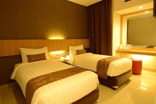 D'Cozie Hotel by Prasanthi Jakarta - Superior tempat tidur twin