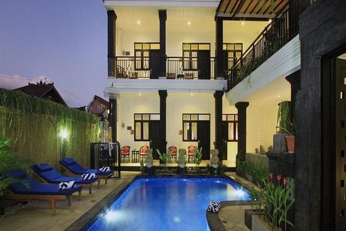 Kubu Anyar Hotel Bali - Kolam Renang