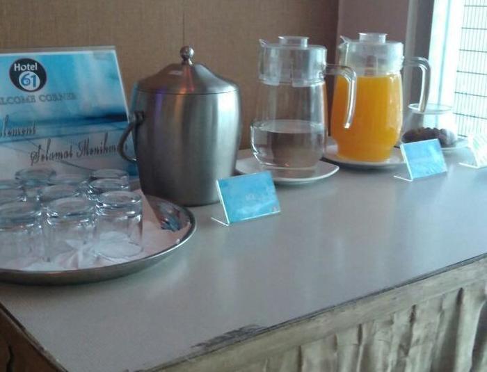 Hotel 61 Banda Aceh - tea time