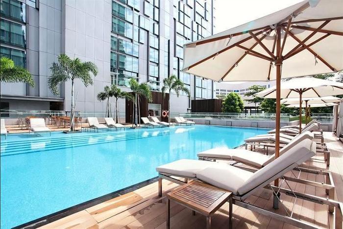 Dengan Bermalam Di Oasia Hotel Novena Singapore Singapura Anda Hanya Beberapa Menit Dari Velocity At Square Dan United Mall