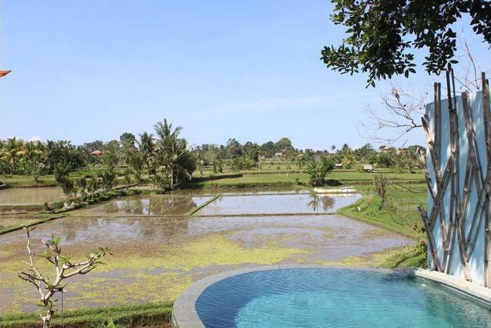 Ubud Padi Villas Bali - Outdoor Spa Tub