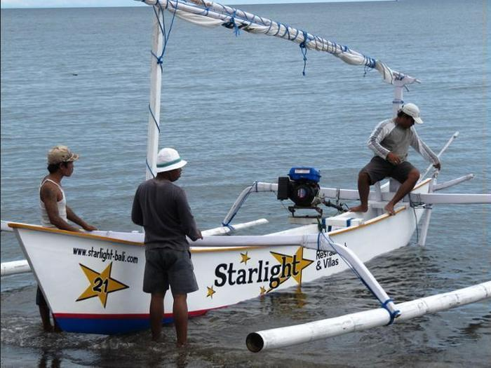 Starlight Restaurant & Bungalows Bali - Fishing