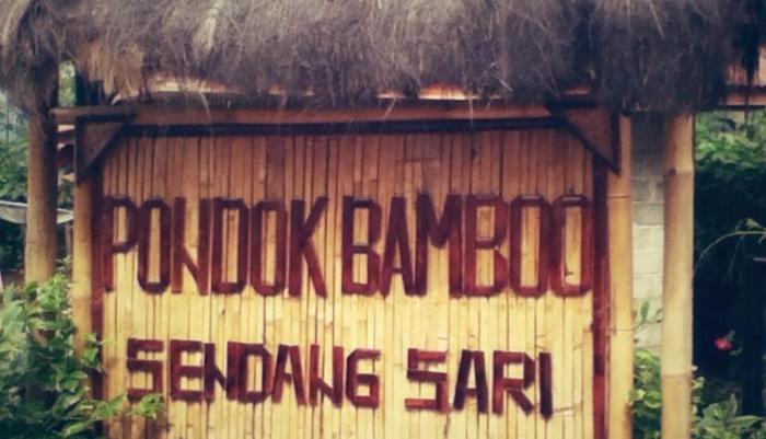 Sendangsari Bamboo Homestay Wonosobo - Tampilan Luar